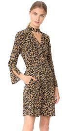 Derek Lam 10 Crosby Cascade Shift Dress with Bell Sleeves at Shopbop