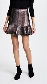 Derek Lam 10 Crosby Ruffle Hem Flounce Skirt at Shopbop