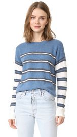 Derek Lam 10 Crosby Striped Crew Neck Sweater at Shopbop