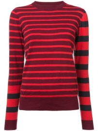 Derek Lam 10 Crosby Striped Crewneck Pullover - Farfetch at Farfetch