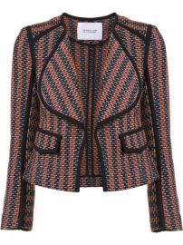 Derek Lam 10 Crosby Striped Fitted Jacket at Farfetch
