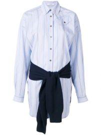 Derek Lam 10 Crosby tie-waist Shirt Dress - Farfetch at Farfetch