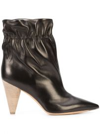 Derek Lam Carmen Elastic Cone Heel Bootie  950 - Buy AW17 Online - Fast Delivery  Price at Farfetch