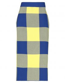 Derek Lam Checked Midi Skirt at Yoox