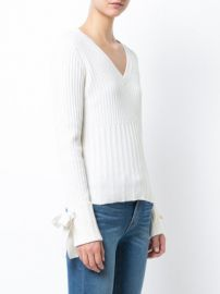 Derek Lam Tie Sleeve Sweater at Farfetch