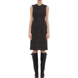 Derek Lam Tweed andamp jersey Sheath at Barneys