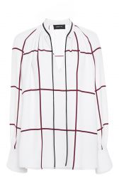 Derek Lam Windowpane Blouse at Moda Operandi