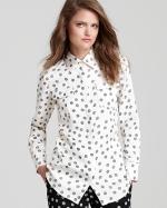 Derek Lam yarn dot shirt at Bloomingdales at Bloomingdales