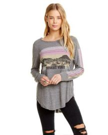 Desert Vibes Long Sleeve T-Shirt by Chaser at Amazon