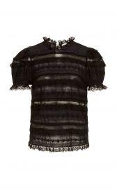 Desi Short Sleeve Blouse at Moda Operandi