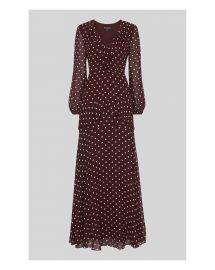 Desiree Spot Frill Maxi Dress at Whistles