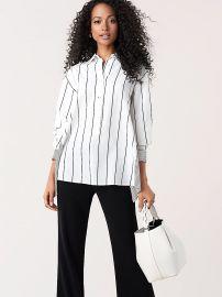 Desiree Striped Shirt at DvF