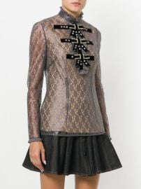 Detailed Lace Sheer Blouse by Philosophy Di Lorenzo Serafini at Farfetch