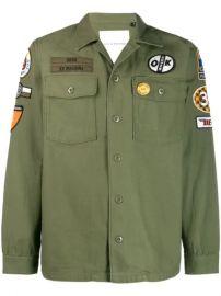 Deus Ex Machina Military Shirt Jacket - Farfetch at Farfetch