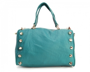 Deux Lux Empire State Duffel in teal at Shopbop