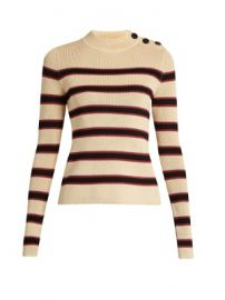 Devona striped long-sleeved top at Matches