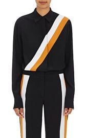 Diagonal Striped Silk Blouse by Stella McCartney at Barneys