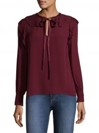 Diana Silk Blouse at Saks Fifth Avenue