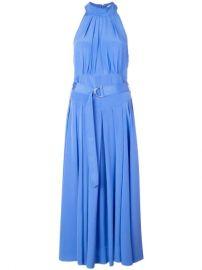 Diane Von Furstenberg Crepe De Chine Halterneck Dress - Farfetch at Farfetch