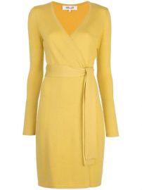 Diane Von Furstenberg Linda Wrap Dress - Farfetch at Farfetch