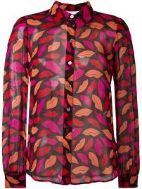 Diane Von Furstenberg Lips Printed Shirt at Farfetch