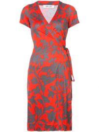 Diane Von Furstenberg New Julian Short-sleeve Wrap Dress at Farfetch
