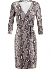 Diane Von Furstenberg New Julian Two Printed Silk Wrap Dress - Dolci Trame at Farfetch