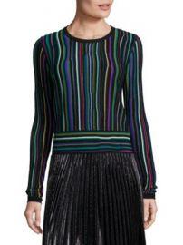 Diane von Furstenberg - Arisha Striped Sweater at Saks Off 5th