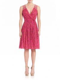 Diane von Furstenberg - Bali Printed Silk Dress at Saks Off 5th