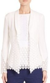 Diane von Furstenberg - Castilla Medallion Lace-Paneled Jacket at Saks Fifth Avenue