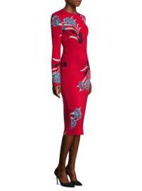 Diane von Furstenberg - Floral Sheath Dress at Saks Fifth Avenue