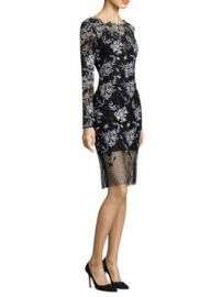Diane von Furstenberg - Illusion Lace Sheath at Saks Fifth Avenue
