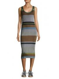 Diane von Furstenberg - Knitted Tank Midi Dress at Saks Off 5th