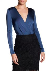 Diane von Furstenberg   Long Sleeve Bodysuit   Nordstrom Rack at Nordstrom Rack