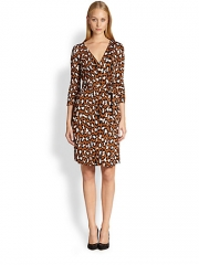 Diane von Furstenberg - New Julian Two Silk Jersey Wrap Dress at Saks Fifth Avenue