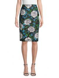 Diane von Furstenberg - Sequined Pencil Skirt at Saks Off 5th