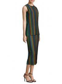 Diane von Furstenberg - Sleeveless Two Tiered Knit Shift Dress at Saks Fifth Avenue