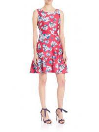 Diane von Furstenberg - Topanga Matte Satin Dress at Saks Off 5th