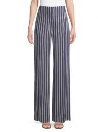 Diane von Furstenberg - Wide Leg Stripe Pants at Saks Fifth Avenue