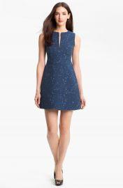Diane von Furstenberg   x27 Yvette  x27  Cotton Blend A-Line Dress at Nordstrom