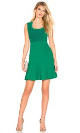 Diane von Furstenberg Adi Mini Dress in Emerald  amp  Avalon Teal from Revolve com at Revolve