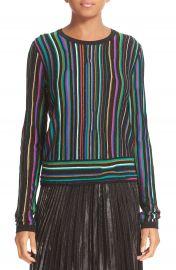 Diane von Furstenberg Arisha Nep Stripe Sweater at Nordstrom