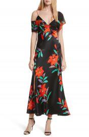 Diane von Furstenberg Asymmetrical Knotted Gown at Nordstrom