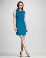 Diane von Furstenberg Ayaanna cutout dress on Glee at Neiman Marcus