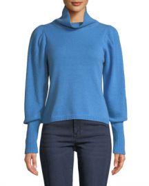 Diane von Furstenberg Beatrice Wool-Cashmere Turtleneck Sweater at Neiman Marcus