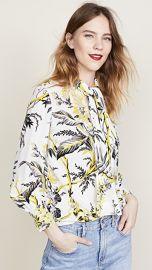 Diane von Furstenberg Bow Blouse at Shopbop