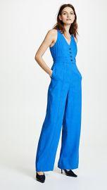 Diane von Furstenberg Button Up Jumpsuit at Shopbop