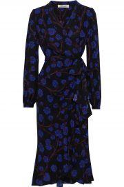 Diane von Furstenberg Carla Floral Dress at The Outnet