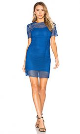 Diane von Furstenberg Chain Lace Dress in French Blue from Revolve com at Revolve
