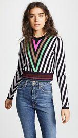 Diane von Furstenberg Chevron Sweater at Shopbop
